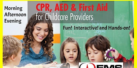 CPR and First Aid Training for Child Care Providers tickets
