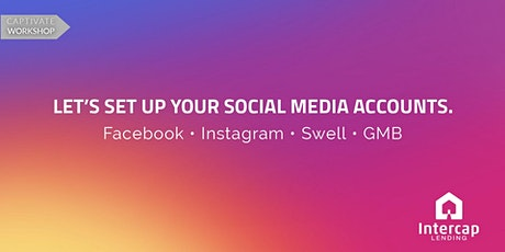 Set Up You Business Social Media Accounts tickets