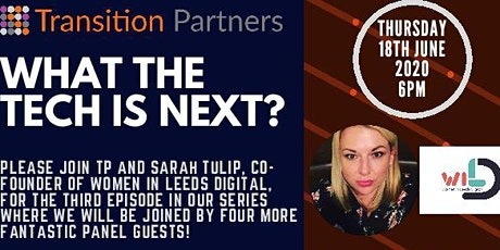 What the Tech is next? tickets