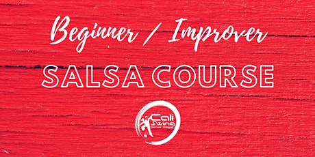 Online Salsa Beginner/Improver 4-week course tickets