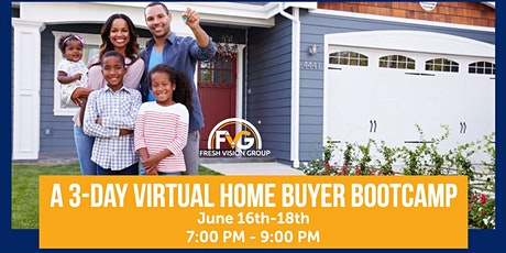 A 3-Day Virtual Home Buyer Bootcamp tickets