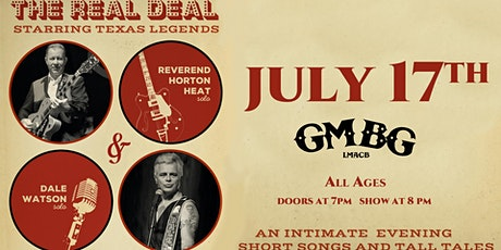 The Reverend Horton Heat and Dale Watson (Solo Show) tickets