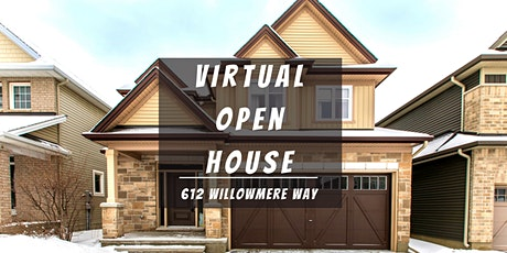 Virtual Open House LIVE with Team Tran - 612 Willowmere Way tickets