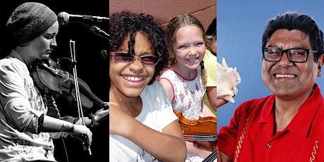KIDS LEARN TO PLAY:  Fiddle Hour ONLINE (Intermediate) tickets