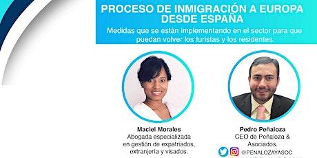 Visados a España y medidas implementadas para que vuelvan los turistas entradas