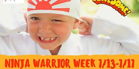 Ninja Warrior Week 2 tickets