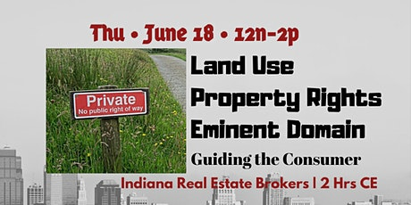 LIVE ONLINE | Land Use.Property Rights.Eminent Domain | June 18 tickets