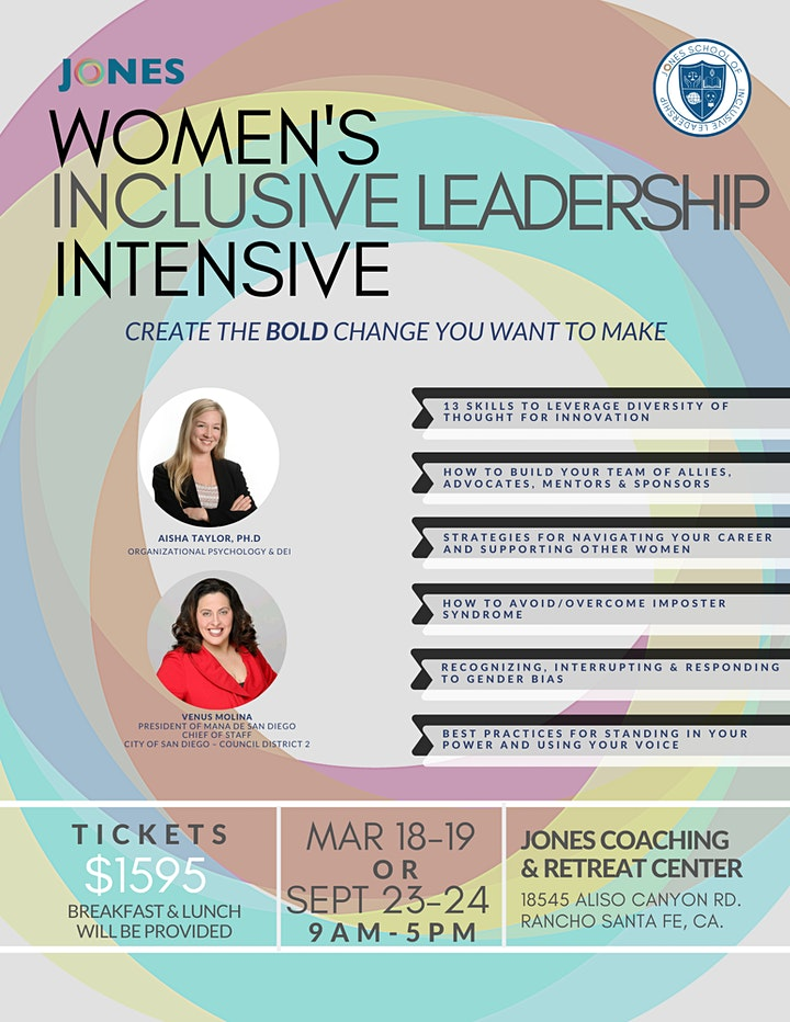 Women's Inclusive Leadership Intensive (2 Days) image