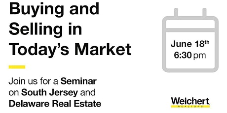 South Jersey & Northern De Real Estate Market Update Seminar tickets