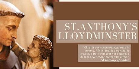 St.Anthony's Parish Lloydminster Sunday Mass Sign-Up tickets