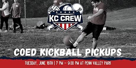 FREE Pick Up CoEd Kickball tickets