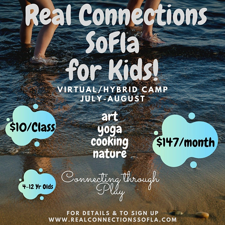 Real Connections SoFla for Kids July Camp image