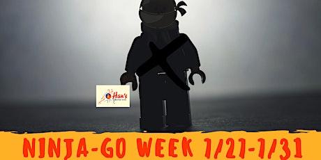 Ninja - Go Week 4 tickets