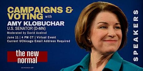 NEW DATE - U.S. Senator Amy Klobuchar (D-MN) tickets