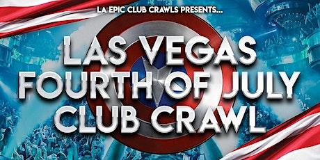 4th of July Las Vegas Club Crawl tickets