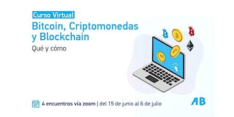 Bitcoin, Criptomonedas y Blockchain - Qué y cómo entradas