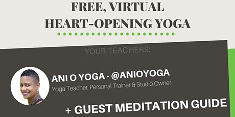 FREE HEART-OPENING YOGA - Hosted by Black Yoga Society tickets