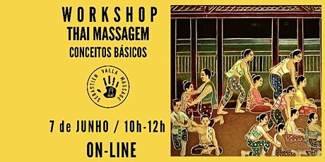 Workshop Thai Massagem Conceitos Básicos ingressos