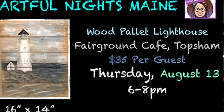 Wood Pallet Lighthouse at Fairground Cafe, Topsham tickets
