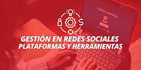 Curso Gestión en Redes Sociales: Plataformas y Herramientas entradas