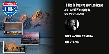 Fort Worth Camera & Tamron Present: David Akoubian tickets
