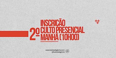 2a. CELEBRAÇÃO MANHÃ - 07/06 ingressos