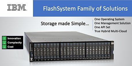 IBM FlashSystem - The Best Kept Secret Everyone is Using... tickets