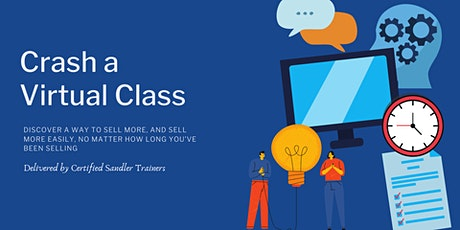 Crash a Virtual Class with Sandler Training Orlando tickets