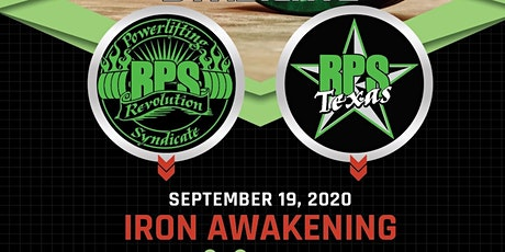 RPS Texas Iron Awakening Powerlifting Meet tickets