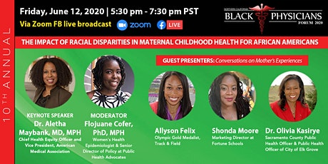 10th Annual Black Physicians Forum broadcasted via Zoom tickets