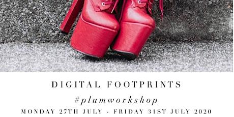 Virtual Plum Workshop : Digital Footprints : Members only tickets