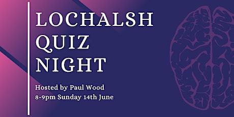 Lochalsh Quiz Night hosted by Paul Wood tickets