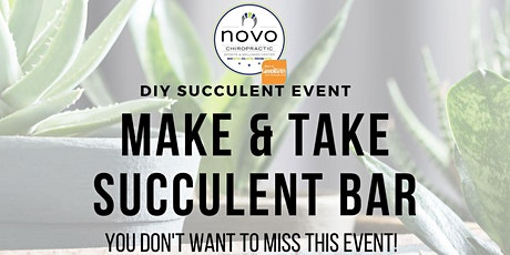 DIY Succulent Bar tickets