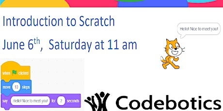 Introduction to Scratch  Programming for ages 6 to 13 tickets