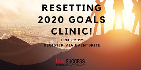 KW Success Productivity Coaching: Resetting 2020 Goals Clinic tickets