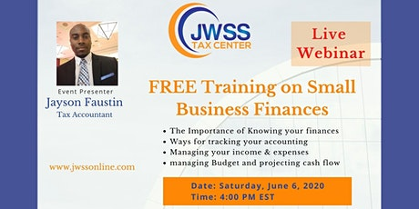 Small Business Financial Training tickets