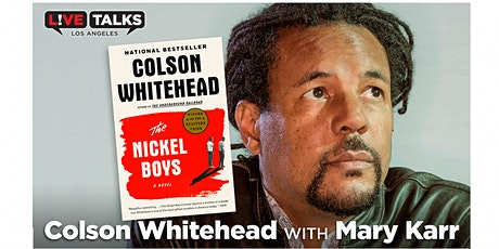 Colson Whitehead in conversation with Mary Karr tickets