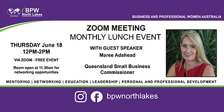 BPW North Lakes June Lunch tickets
