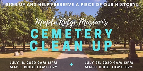 Maple Ridge Cemetery Clean Up tickets