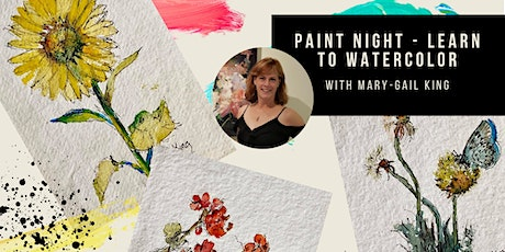 Paint Night - Learn to Watercolor tickets