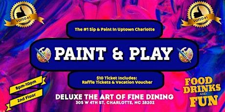 Thursdays: Paint & Play (Season 4) tickets