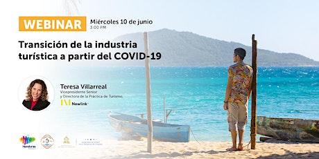 Webinar: Transición de la industria turística a partir del COVID-19 boletos