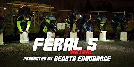 Feral 5 - Virtual tickets