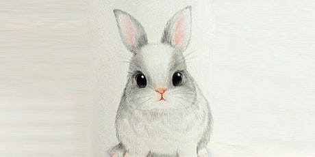 30min  Sketching - Cute Baby Bunny @12 PM (Ages 5+) tickets