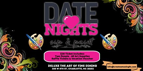 Date Night: Thursday (Paint & Play) tickets