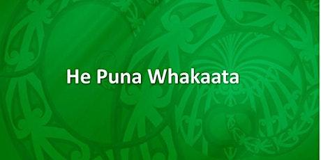 Expessions of Interest  : He Puna Whakaata Ako Mamao - Huitopa  (Online) tickets