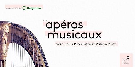 Apéros musicaux avec Valérie Milot & Louis Brouillette billets