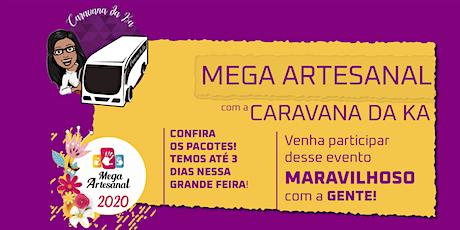 13/12/2020  - Mega Artesanal  2020 - Caravana da Ka de Suzano ingressos