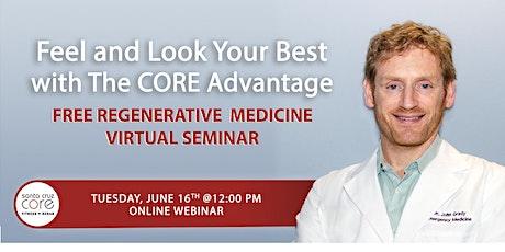 Virtual Regenerative Medicine Seminar tickets
