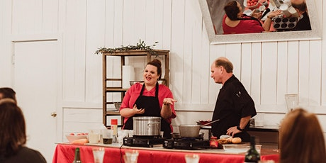 Cooking Dinner Theatre - Grillin' in the Courtyard tickets